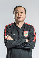**EXCLUSIVE**Portrait of head coach Chen Jingang of Changchun Yatai F.C. for the 2018 Chinese Football Association Super League, in Wuhan city, central China's Hubei province, 22 February 2018.