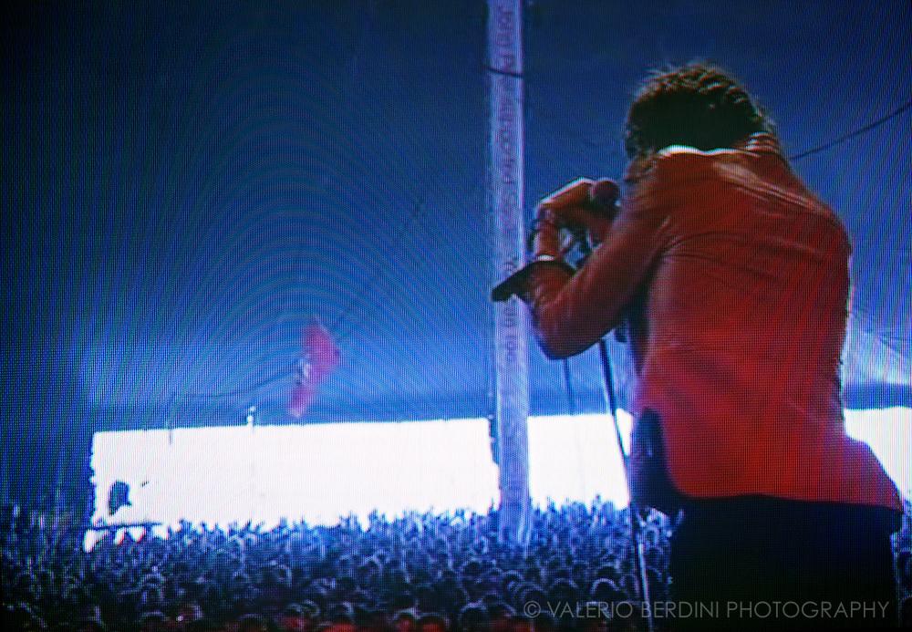 Glastonbury Festival on the BBC. The Horrors - Faris Badwan