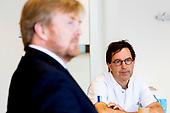 Werkbezoek Koning Willem Alexander aan Erasmus MC