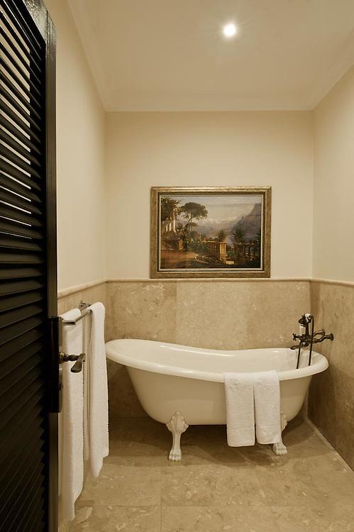 Interiors of room Lake Como. Architecture shots of Villa Monticelli, Accra, Ghana.