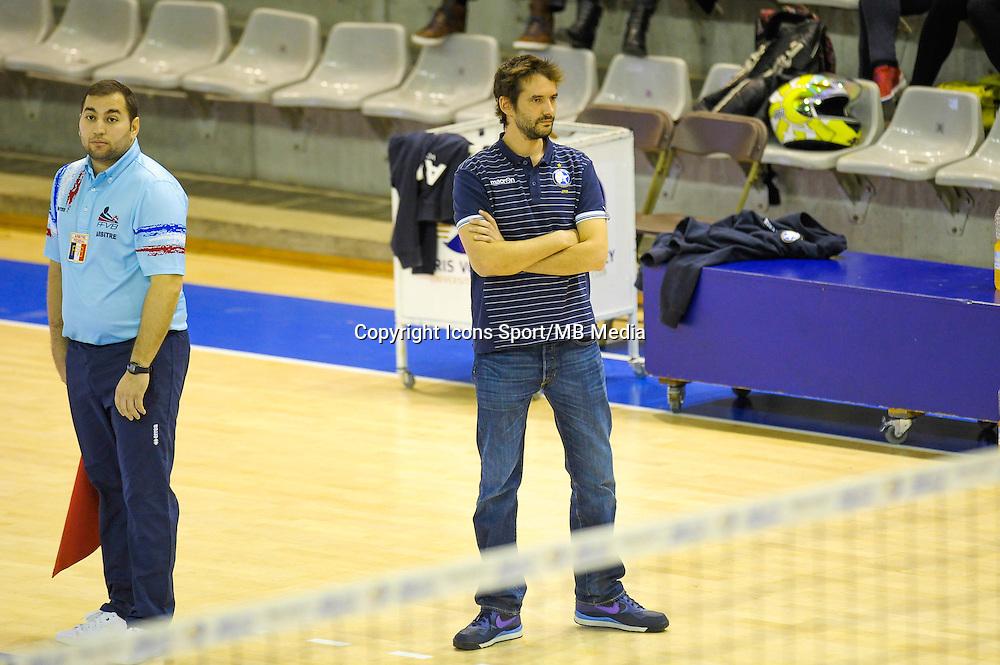 Dorian Rougeyron - 20.12.2014 - Paris Volley / Sete - 12eme journee de Ligue A<br /> Photo : Andre Ferreira / Icon Sport