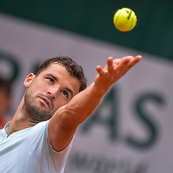 Grigor Dimitrov of Bulgaria during Day 6 of the French Open 2018 on June 1, 2018 in Paris, France. (Photo by Baptiste Fernandez/Icon Sport)
