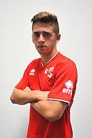 Theo VALLS - 16.09.2014 - Photo officielle Nimes - Ligue 2 2014/2015<br /> Photo : Icon Sport