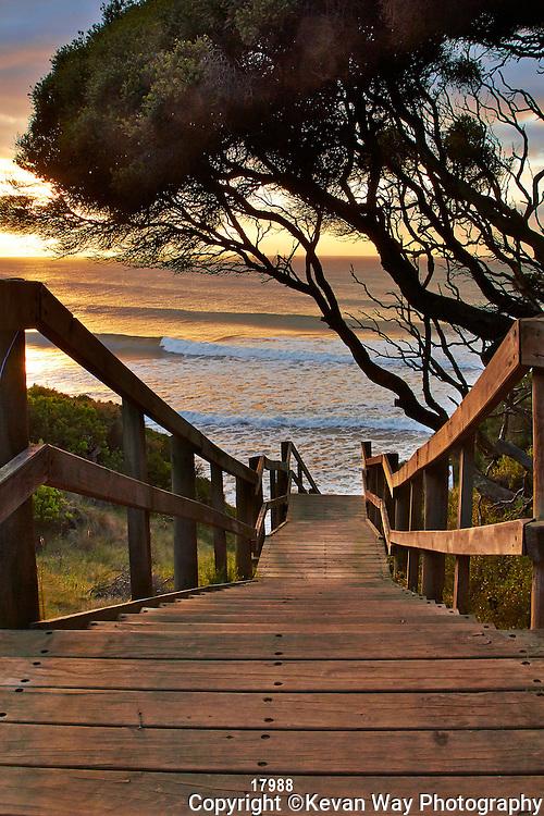sunrise at Steps