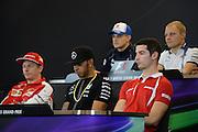 October 23-25, 2015: United States GP 2015: Alexander Rossi (USA) Manor Marussia F1 Team, Lewis Hamilton (GBR), Mercedes, Kimi Raikkonen (FIN), Ferrari, Marcus Ericsson, Sauber Ferrari , Valtteri Bottas (FIN), Williams Martini Racing, Daniel Ricciardo (AUS), Red Bull-Renault
