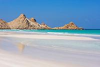 Yemen, ile de Socotra. Plage de Qalansia. // Yemen, Socotra island, Qalansia beach.