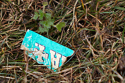 """© Licensed to London News Pictures.  18/07/2013. THAME, UK. Remains of a box of Rizla branded smoking paper left in a playground in Southern Road recreation ground in Thame, Oxfordshire where yesterday afternoon (Wed 17th) a 14-month old boy was hospitalised after picking up a discarded drugs wrap and chewing it. His condition is not thought to be serious but he was kept in overnight for observation.<br /> <br /> Police officers searched the scene for further paraphernalia and engaged with the council who will carry out additional cleaning at the recreation ground.<br /> <br /> Det Sgt Darren Cartwright of Thames Valley Police said: """"This was obviously a frightening experience for the boy's parents, but fortunately he doesn't seem to have been seriously harmed. It seems he had picked up a discarded paper wrap believed to have contained an illegal drug."""" <br /> <br /> Photo credit: Cliff Hide/LNP"""