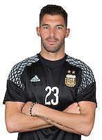 Football Conmebol_Concacaf - <br />Copa America Centenario Usa 2016 - <br />Argentina National Team - Group D -<br />Mariano Andujar