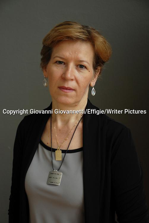Lilia Bicec, Salone Internazionale del Libro di Torino<br /> 18 May 2013<br /> <br /> Photograph by Giovanni Giovannetti/Effigie/Writer Pictures <br /> <br /> NO ITALY, NO AGENCY SALES