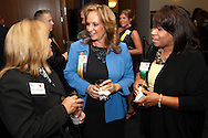 (from left) Montgomery County Commissioner Debbie Lieberman, Tina Marker of Windward Design Group and Sharon Howard during the Better Business Bureau's Eclipse Integrity Awards dinner at Sinclair Community College's Ponitz Center in downtown Dayton, Tuesday, May 14 2013.