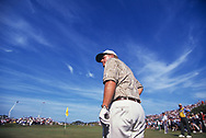 Jack Nicklaus<br /> creative scenic portrait at<br /> The 1996 Open Championship was the 125th Open Championship, held 18&ndash;21 July at the Royal Lytham &amp; St Annes Golf Club in Lytham St Annes, England<br /> <br /> Picture Credit:  Mark Newcombe / www.visionsingolf.com