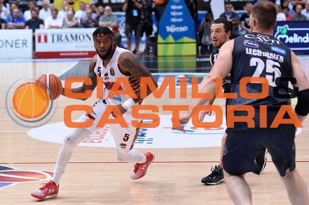 Julian Stone<br /> Dolomiti Energia Aquila Basket Trento - Umana Reyer Venezia<br /> Lega Basket Serie A 2016/2017<br /> Playoff, finale gara 4<br /> Trento, 16/06/2017<br /> Foto M.Ceretti / Ciamillo-Castoria