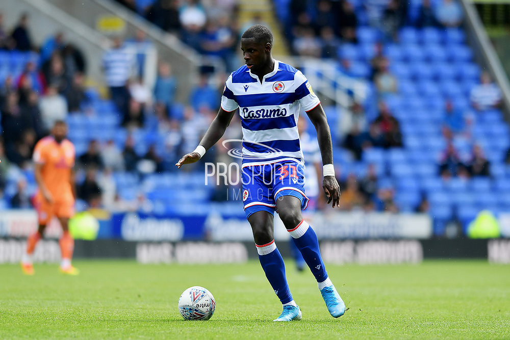 Reading's Lucas Joao during the EFL Sky Bet Championship match between Reading and Cardiff City at the Madejski Stadium, Reading, England on 18 August 2019.