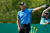 Golf - 2019 Senior Open Championship at Royal Lytham & St Annes - First Round <br /> <br /> Tom Lehman (USA) watches his drive go left off the 2nd tee.<br /> <br /> COLORSPORT/ALAN MARTIN