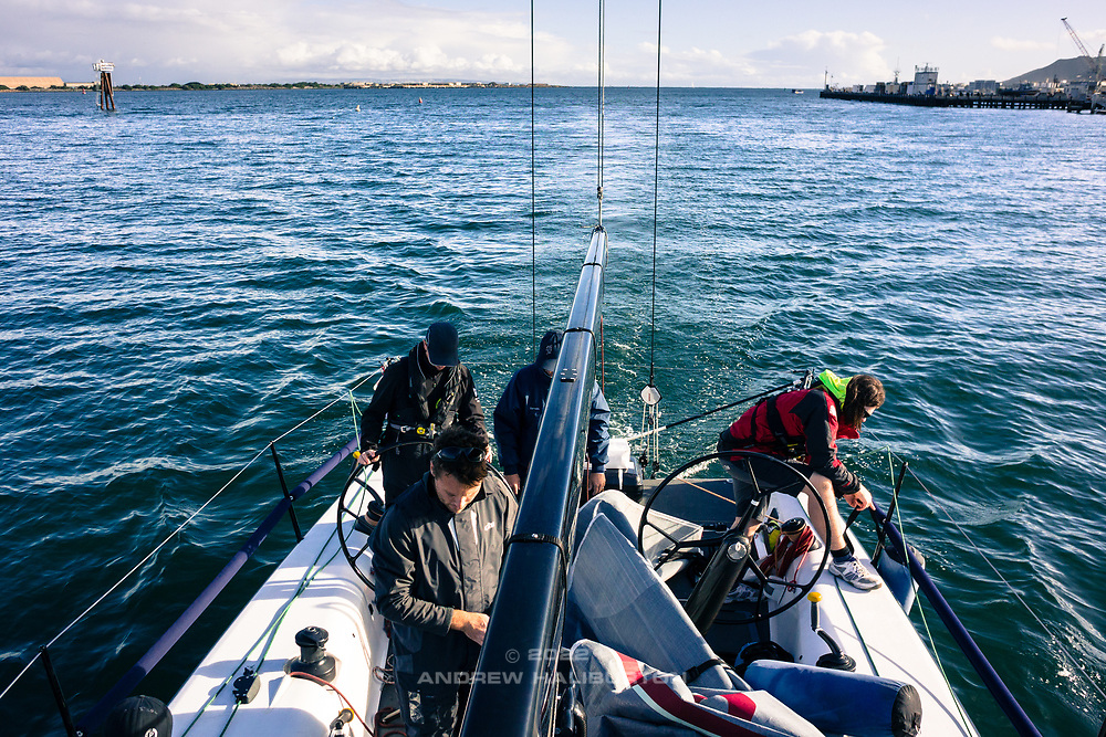 Farr400 Blue Flash sea trials San Diego, CA.