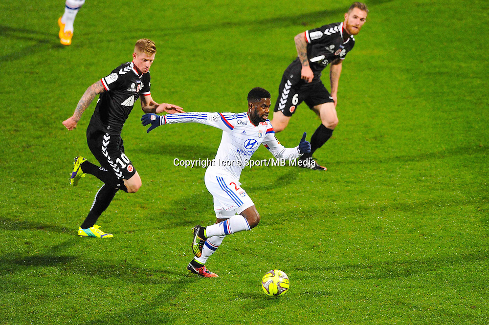 Arnold MVUEMBA  - 04.12.2014 - Lyon / Reims - 16eme journee de Ligue 1  <br /> Photo : Jean Paul Thomas / Icon Sport