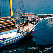 Papela, where for centuries intrepid sailors from Wakatobi (southern Sulawesi) cast anchor to make splendid wooden boats by hand.<br />