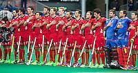 ANTWERP -    The Belgium team before   the match of the men  Belgium v China.  WSP COPYRIGHT KOEN SUYK