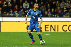 "March 23, 2019 - Udine, Italia - Foto LaPresse/Andrea Bressanutti.23/03/2019 Udine (Italia).Sport Calcio.Italia vs. Finlandia - European Qualifiers - Stadio ""Dacia Arena"".Nella foto: bonucci..Photo LaPresse/Andrea Bressanutti.March  23, 2019 Udine (Italy).Sport Soccer.Italy vs Finland - European Qualifiers  - ""Dacia Arena"" Stadium .In the pic: bonucci (Credit Image: © Andrea Bressanutti/Lapresse via ZUMA Press)"