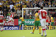 London - Sunday, May 3rd, 2009: Nicky Bailey (L) of Charlton Athletic scores his side's first goal during the Coca Cola Championship match at The Valley, London. (Pic by Mark Chapman/Focus Images)