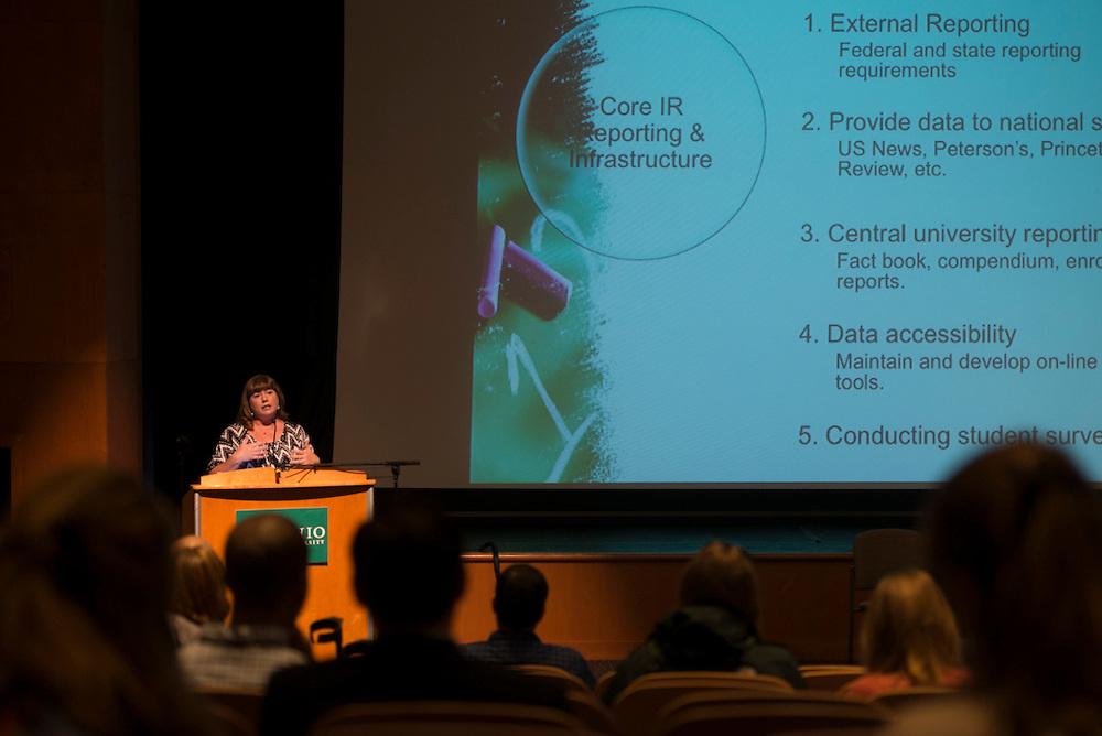 New Faculty Orientation. © Ohio University / Photo by Kaitlin Owens