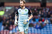 Norwich City goalkeeper Ralf Fährmann (21) during the The FA Cup match between Burnley and Norwich City at Turf Moor, Burnley, England on 25 January 2020.
