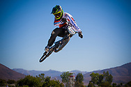 #724 (HERNANDEZ BUSTOS Miguel Angel) COL at the 2013 UCI BMX Supercross World Cup in Chula Vista