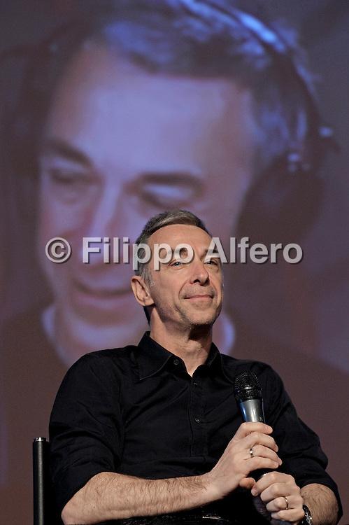 Torino, domenica 16 maggio 2010, salone del libro di Torino<br /> nella foto: Linus