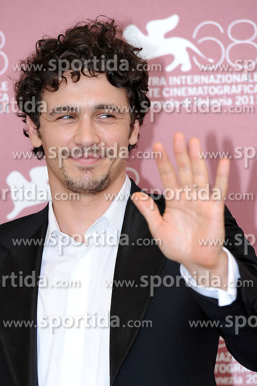 04.09.2011, Venedig, ITA, La Biennale, 68. Filmfestspiele von Venedig, im Bild James FRANCO. // during 68th Venice Film Festival, mostra del cinema at in Venice Italy on 4/9/2011. EXPA Pictures © 2011, PhotoCredit: EXPA/ Insidephoto/ Massimo Oliva +++++ ATTENTION - FOR AUSTRIA/(AUT), SLOVENIA/(SLO), SERBIA/(SRB), CROATIA/(CRO), SWISS/(SUI) and SWEDEN/(SWE) CLIENT ONLY +++++