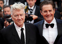 Director, David Lynch and Kyle MacLachlan at Twin Peaks gala screening at the 70th Cannes Film Festival Thursday 25th May 2017, Cannes, France. Photo credit: Doreen Kennedy