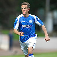 St Johnstone FC...Season 2012-13<br /> Chris Millar<br /> Picture by Graeme Hart.<br /> Copyright Perthshire Picture Agency<br /> Tel: 01738 623350  Mobile: 07990 594431