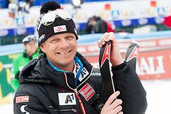 Michael Pircher, coach of HIRSCHER Marcel of Austria during the 2nd Run of 7th Men's Giant Slalom - Pokal Vitranc 2013 of FIS Alpine Ski World Cup 2012/2013, on March 9, 2013 in Vitranc, Kranjska Gora, Slovenia. (Photo By Vid Ponikvar / Sportida.com)