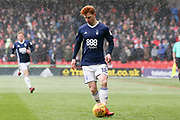 Jack Colback of Nottingham Forest (18) during the EFL Sky Bet Championship match between Sheffield United and Nottingham Forest at Bramall Lane, Sheffield, England on 17 March 2018. Picture by Mick Haynes.