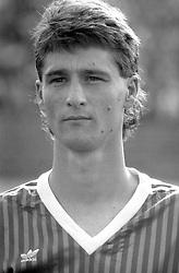 FUDBAL - Partizan - Olimpija 1:0. <br /> Beograd, 02.06.1991.<br /> At picture Alfred Jermanis of Olimpija, photo by Nebojsa Parausic / Sportida