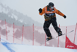 MASSIE Alex, Snowboarder Cross, 2015 IPC Snowboarding World Championships, La Molina, Spain