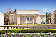Williams Mall at Chapman University in Orange County California