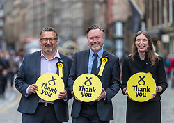 The results of the European Parliamentary Elections for the Scotland Region are announced at the City Chambers in Edinburgh. Scotland's six new MEPs will be the SNP's Alyn Smith, Christian Allard and Aileen McLeod, Louis Stedman-Bruce of the Brexit Party, Sheila Ritchie of the Liberal Democrats and Baroness Nosheena Mobarik of the Conservatives.
