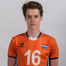 07-06-2016 NED: Jeugd Oranje jongens <1999, Arnhem<br /> Photoshoot met de jongens uit jeugd Oranje die na 1 januari 1999 geboren zijn / Nimo Benne PL