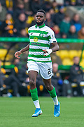 Odsonne Edouard (#22) of Celtic FC during the Ladbrokes Scottish Premiership match between Livingston FC and Celtic FC at The Tony Macaroni Arena, Livingston, Scotland on 6 October 2019.