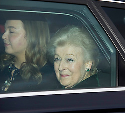 Princess Alexandra attends the Queen's Christmas lunch. Buckingham Palace, London, United Kingdom. Wednesday, 18th December 2013. Picture by i-Images
