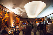 Sallie and Caven's wedding celebration parties in New Orleans; reception at the Sazerac Bar in the Roosevelt Hotel