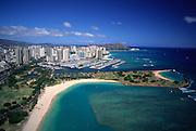 Ala Moana Park, Waikiki, Oahu, Hawaii<br />