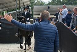 Helgstrand Andreas, DEN, Jovian<br /> Ermelo - Weltmeisterschaft Junge Dressurpferde 2019<br /> Finale für 5 jährige Dressurpferde<br /> Final for 5 years dressage horses<br /> 03. August 2019<br /> © www.sportfotos-lafrentz.de/Dirk Caremans