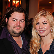 NLD/Den Haag/20110117 - Premiere film Sonny Boy, Stephan Evenblij en partner