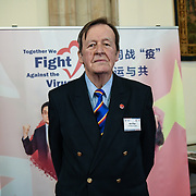 Ben Pape attend China Chamber of Commerce in the UK hosts China-UK United We Stand together to fights the #Covid19 regardless of the racist attacks China of #coronavirus has already infected in Europe - Italy at Guildhall, on 28th