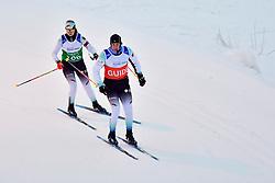 KLUG Clara Guide:  Martin HARTL, GER, B1 at the 2018 ParaNordic World Cup Vuokatti in Finland