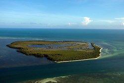 Aerial view of Boca Grande Key, Florida, United States of America