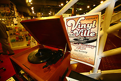 Innagural Vinyl in the Ville hosted by Crosley Radio, Thursday, April 16, 2009 at Ear X-tacy in Louisville.