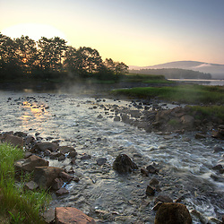 Sunrise at Somesville on Mount Desert Island in Maine.