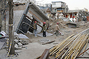 Man digs 18m Depth Basement only to to cause 4 homes to collapse<br /> <br /> A citizen digs 18m depth basement arbitrarily and caused four houses to collapsed in Beijing, China<br /> ©Exclusivepix Media